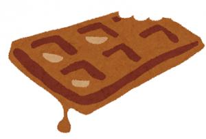 かじってとけたチョコレート1